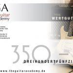 Wertgutschein 350 €