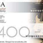 Wertgutschein 400 €