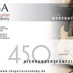 Wertgutschein 450 €