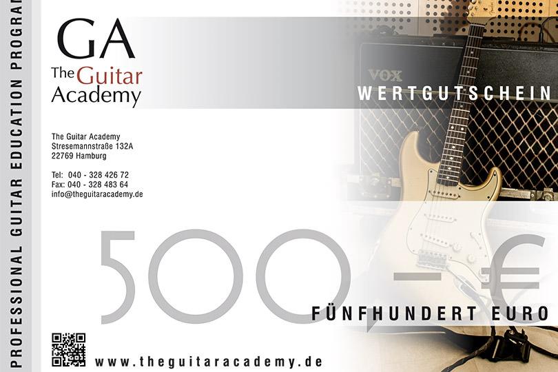 Wertgutschein 500 €