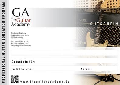Gutscheine Erwerben – The Guitar Academy